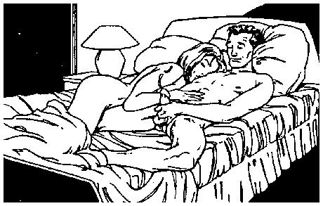 Кроватный Секс Сексуальной Телочки И Ее Восхитительного Хахаля